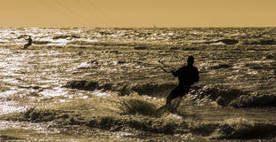 Kitesurf Royalty Free Stock Images