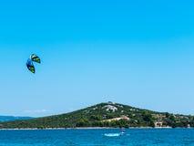 Kitesurf Photographie stock