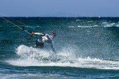 Kitesurf Стоковые Изображения RF
