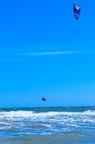 Kitesurf Photos libres de droits