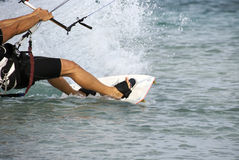kitesurf photo stock