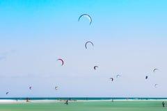 Kitesurf stockbild