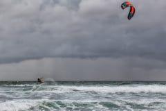 Kitesurf Fotografia Royalty Free