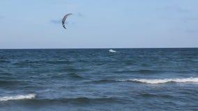 Kitesurf. In Black Sea, Romania