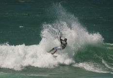 Kitesurf Free Ride Stock Photos