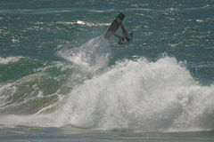 Kitesurf Free Ride Stock Photo