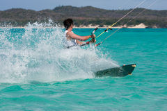 kitesurf laguna zdjęcie royalty free