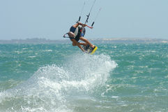 Kitesurf Trick, Mui Ne Royalty Free Stock Photo