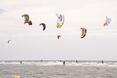 Kitesurf Worldcup 2010 Royalty Free Stock Images