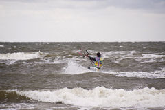 Kitesurf Worldcup 2010 Stock Photo