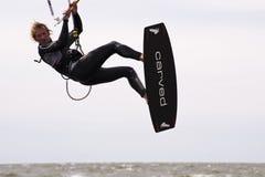 Kitesurf Worldcup 2010 Imagem de Stock