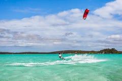 Kitesurfer Fotografia Stock
