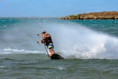 Kitesurfer Zdjęcie Stock