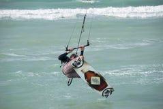 Kitesurfer Image libre de droits