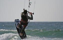 Kitesurfer Foto de Stock Royalty Free