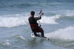 Kitesurfer Imagem de Stock Royalty Free