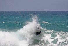 kitesurfer Obrazy Stock