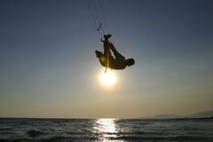kitesurfer Στοκ Εικόνες