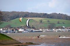 Kitesurfer Royalty Free Stock Image