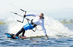 Kitesurfer Photo stock