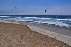 Kitesurfer Stock Image