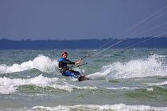 Kitesurfer Royalty Free Stock Photo