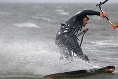 Kitesurfer Royalty Free Stock Image