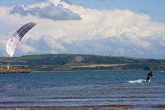 Kitesurfer Στοκ φωτογραφία με δικαίωμα ελεύθερης χρήσης