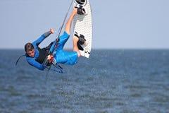 Kitesurfer 免版税库存照片