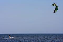 Kitesurfer fotos de archivo