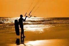 Kitesurfer Fotografia de Stock Royalty Free