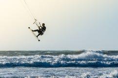 Kitesurfer Obrazy Royalty Free