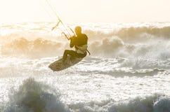 Kitesurfer Royaltyfria Foton