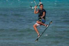 Kitesurfer Photo stock