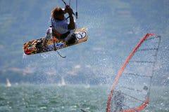 Kitesurfer stock photography