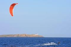 Kitesurfer Zdjęcia Stock