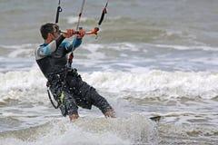 Kitesurfer Zdjęcie Royalty Free