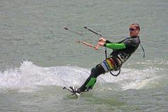 Kitesurfer Fotografia Royalty Free