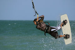 Kitesurfer Royalty Free Stock Photos
