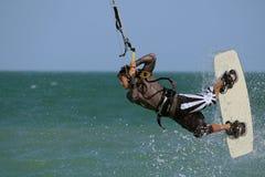 Kitesurfer royalty-vrije stock foto's
