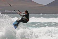 Kitesurfer Royalty Free Stock Images