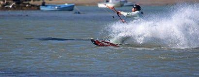 Kitesurfer Obraz Royalty Free