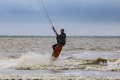 Kitesurfer 图库摄影