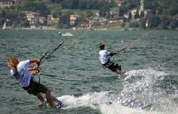 Free Kitesurfer In Action Stock Image - 5662611