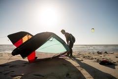 Kitesurfer Stock Images