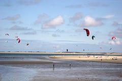 kitesurfers Стоковое фото RF