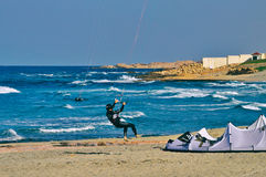 Kitesurfers Стоковые Фото