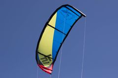 Kitesurfers Стоковые Изображения RF