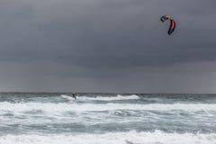 Kitesurff Fotografia Royalty Free