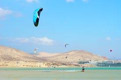 Kitesurfing zdjęcie royalty free